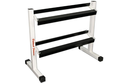 Deltech Fitness 36-Inch Two-Tier Dumbbell Rack