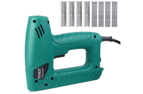 FIXKIT Electric Nail Gun Hand Tacker Flooring Framing Nailers Kit