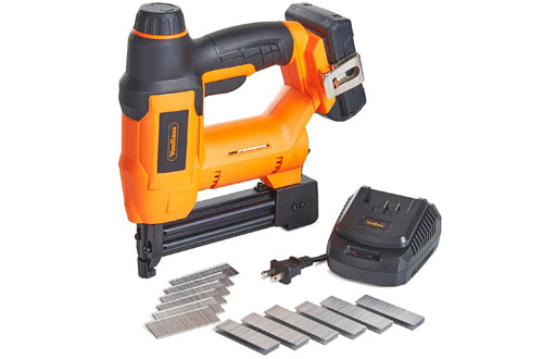VonHaus 18V Lithium-Ion Cordless Brad Nailer and Stapler Kit