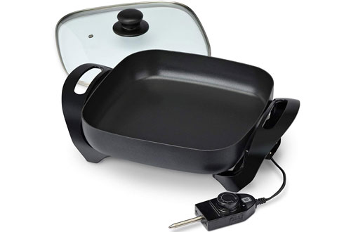 Toastmaster TM-11SK Electric Skillet for Sauteeing and Grilling