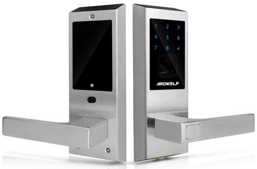 Ardwolf A20SBiometric TouchscreenFingerprint Door Lockwith Auto Lock