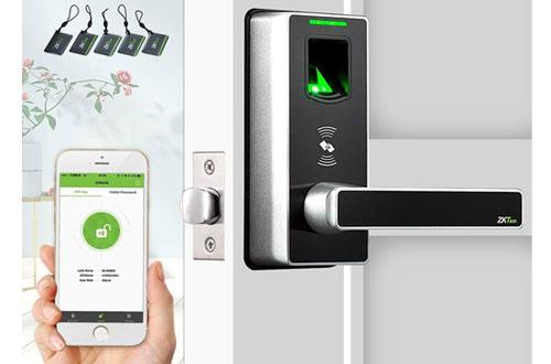 ZKTecoKeyless Door Locks/Biometric Fingerprint Door Safe Locks for Home