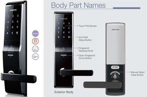 SAMSUNG SHS-5230 (SHS-H700) DigitalFingerprint Door Lock