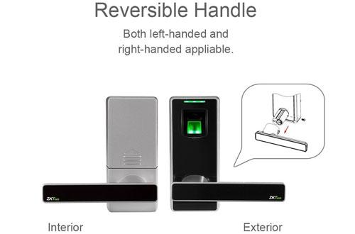 ZKTeco Electronic Biometric Fingerprint Security Keyless Door Lock for Home & Office