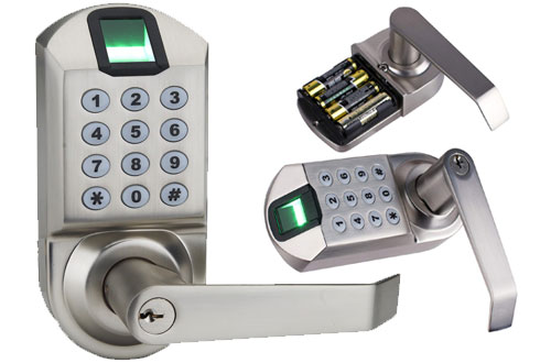 Ardwolf A1 Biometrical Fingerprint Door Lock with Reversible Lever and Automatic Locking