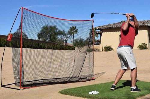 GoSports Golf Practice Hitting Net -Personal Driving Range for Indoor/Outdoor