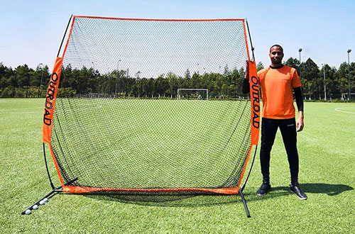 Outroad Portable Golf Hitting Pitching Practice Driving Net