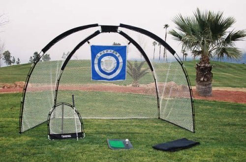 Ajillis3-in-1 Golf Practice Set with Driving Net and Chipping Net