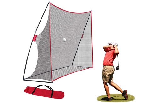 Nova Microdermabrasion Large Golf Hitting Net & Practice Driving Net for Indoor Outdoor