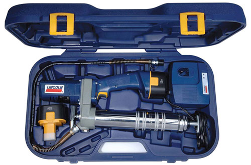 Lincoln Lubrication PowerLuber Cordless Grease Gun with Battery Kit