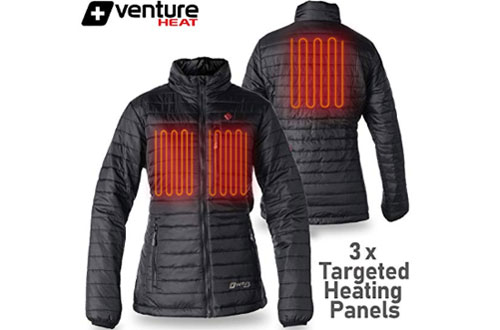 Venture Heat Women's Heated Jacket with Battery