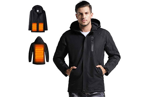 VENUSTAS Men's Heated Jacket