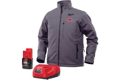 Milwaukee Heated Front and Back Jacket with Battery and Charger