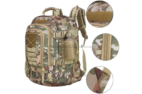 PANS Outdoor Military Expandable Travel Waterproof Tactical Backpack