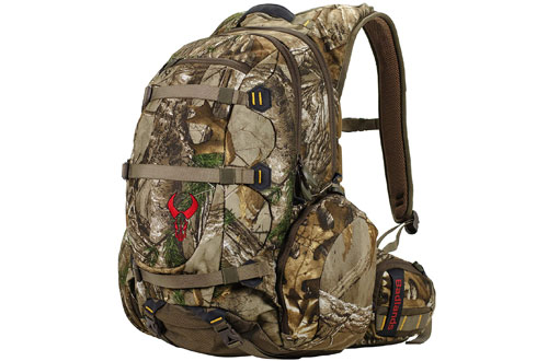 Badlands Superday Camouflage Bow Hunting Backpack with Rifle Holder
