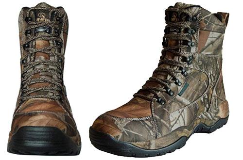 RUNFUN Men's Lightweight Waterproof Hunting Boots