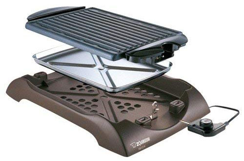 Zojirushi EB-CC15 Indoor Electric BBQ Grill for Grilling Steak, Chicken & Fish