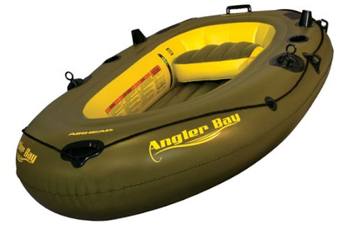AIRHEAD Angler Bay Inflatable Boat for 3 Persons