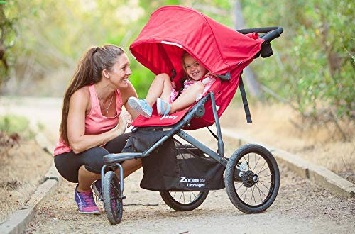 Joovy Zoom 360 Ultralight Blueberry Baby Jogging Stroller