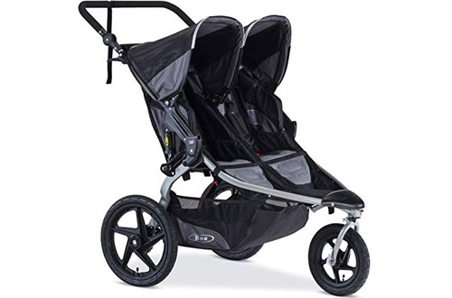 BOB Revolution Flex Duallie Double Jogging Stroller