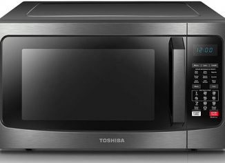 Toshiba EC042A5C-BS Microwave Convection Oven with Smart Sensor and LED Lighting