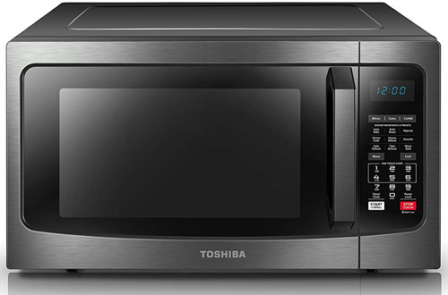Toshiba EC042A5C-BS Microwave Convection Oven withSmart Sensor and LED Lighting