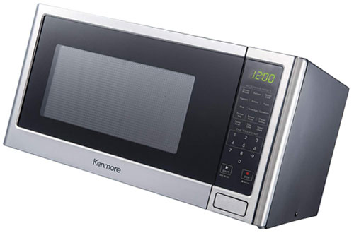 Kenmore Stainless Steel Microwave Oven