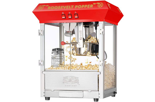 Great Northern Red Tabletop Style Popcorn Popper Machine