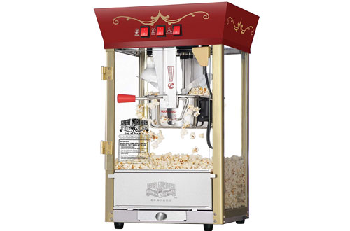 Great Northern Red Matinee Movie Theater Popcorn Machine