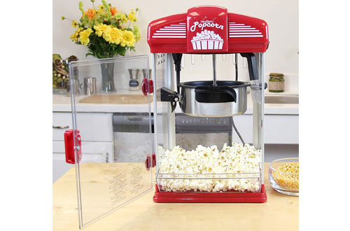 West Bend Movie Theater Popcorn Popper Machine with Easy Clean