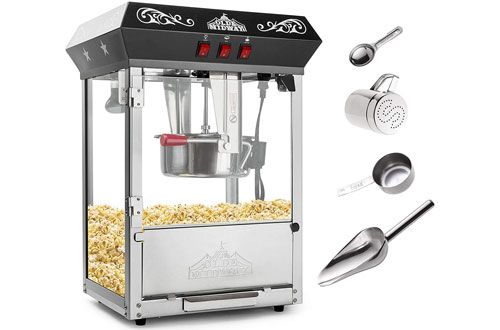 Olde Midway Popcorn Popper Machine Maker with Kettle