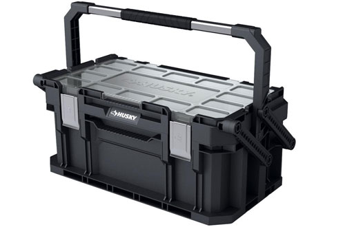 PortableConnect Heavy-Duty Cantilever Mobile Plastic Tool Box