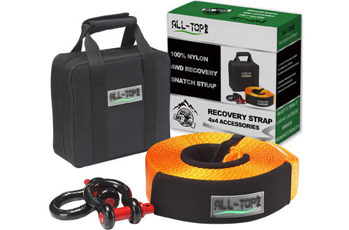 ALL-TOP Heavy-Duty Tow Strap Recovery Kit