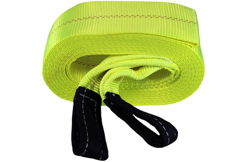 Grip 30 ft x 4 in Heavy Duty Car Tow Strap