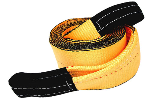 Tanaka 4-Inch Super Duty 35,000 LB Rated Recovery Tow Strap