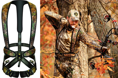 Hunter Safety System UltraLite Flex Treestand Harness - XX-Large/3X-Large