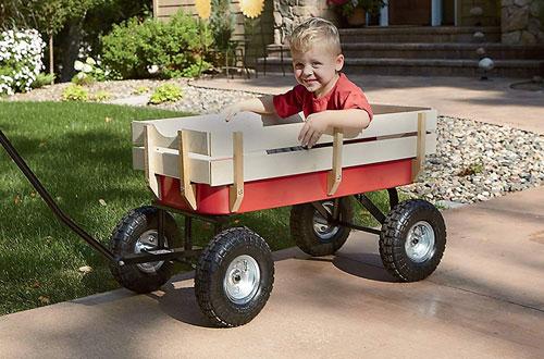 Kotulas220-LbAll-Terrain Red Wagon for Sale