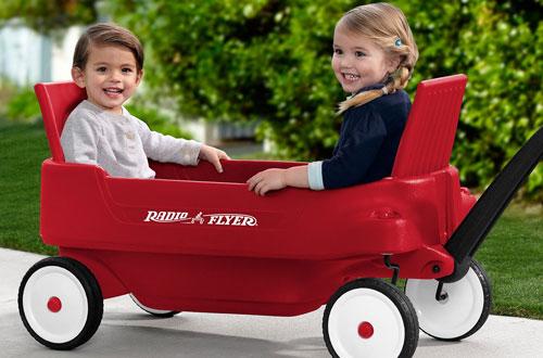 Radio Flyer Pathfinder Foldable Wagon for Adults