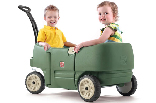 Step 2 Kids' Wagon for 2 Plus Willow Green