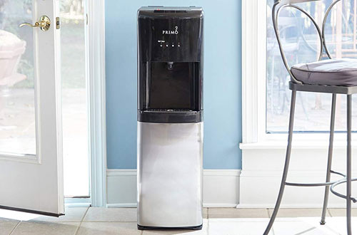 Primo Stainless Steel Hot and Cold Water Cooler Dispenser