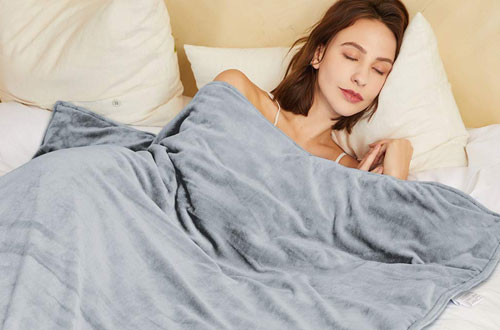 Hiseeme 18lbs Weighted Blanket for Adults