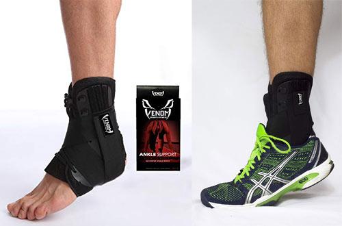 Venom Lace-up Ankle Brace for Running - Men & Women