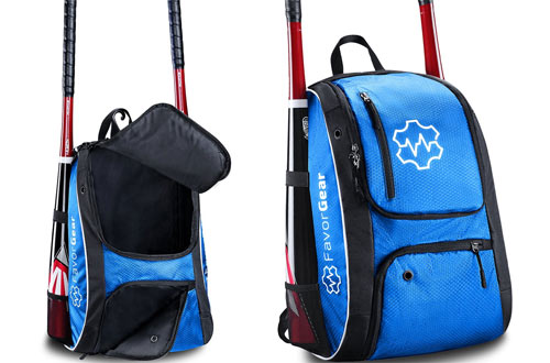FAVORGEAR Baseball Bag - Backpack for Baseball T-Ball Softball Basketball