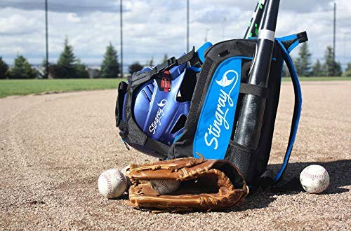 Sting Ray Large Capacity Baseball & Softball Stingray Backpack