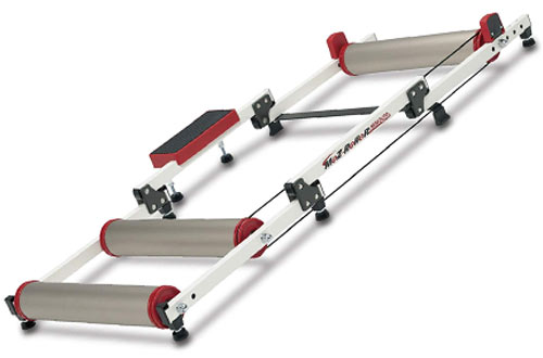 Minoura Folding Bike Trainer Rollers with Step Guard