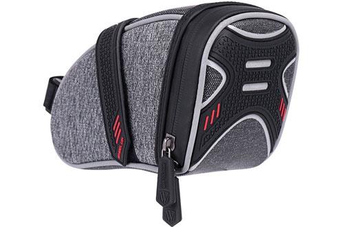 WATERFLY Bike Saddle Bag/Bicycle Seat Bag with Storage Bag