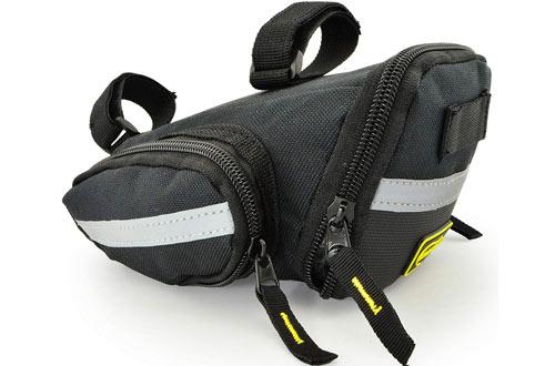 Lumintrail Strap-on Medium/LargeBicycleSaddle Bag Under Seat Pack