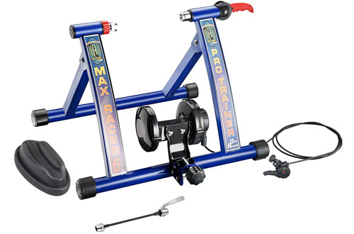 RAD Cycle Products Max Racer of Resistance Portable Bicycle Trainer Machine