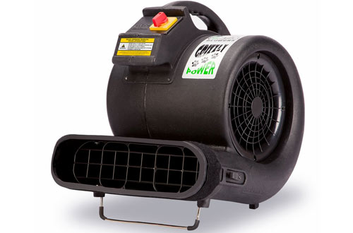 B-Air Grizzly 3550 CFM Air Grizzly Mover - Carpet Dryer Floor Fan