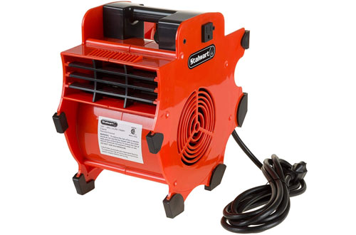 Stalwart Portable Industrial Fan Blower for Heavy Duty Mechanics Floor and Carpet Dryer